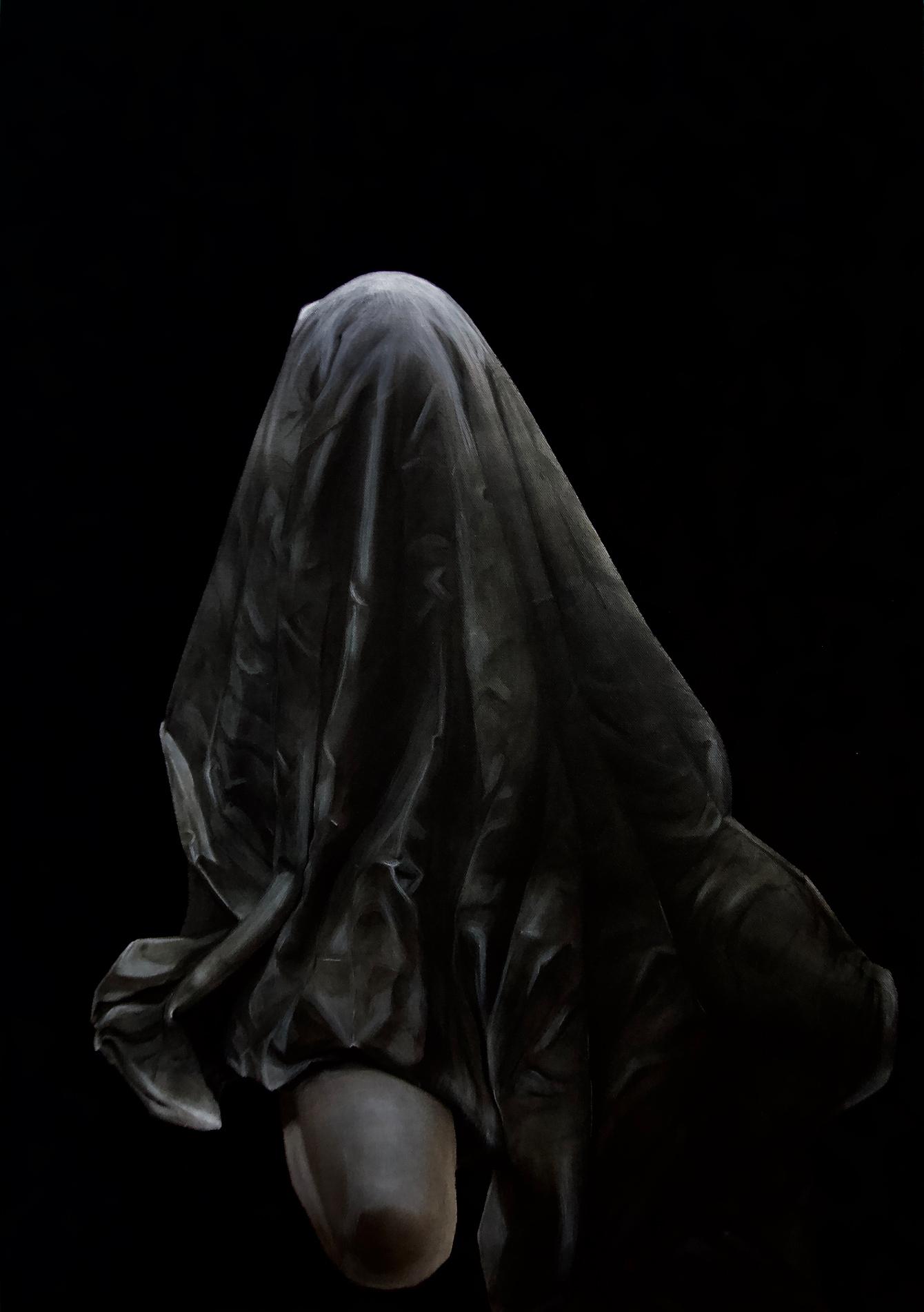Foto des Gemäldes »Ein zu Ruß verfallenes Ego«