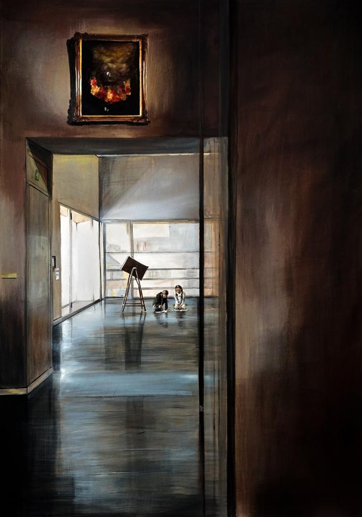 Foto des Gemäldes »ohne Titel«