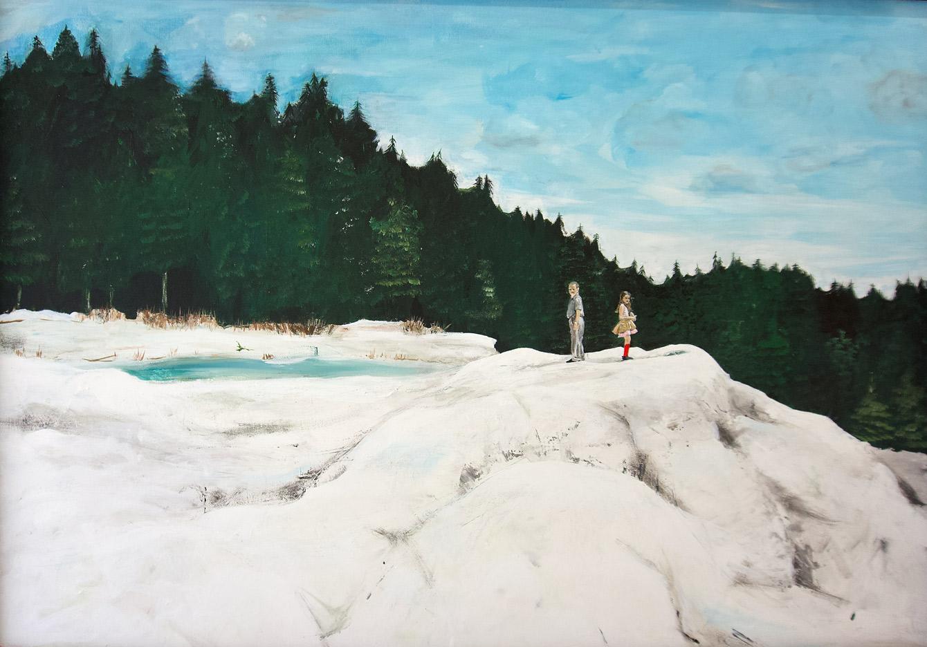Foto des Gemäldes »Retezat-Gebirge«