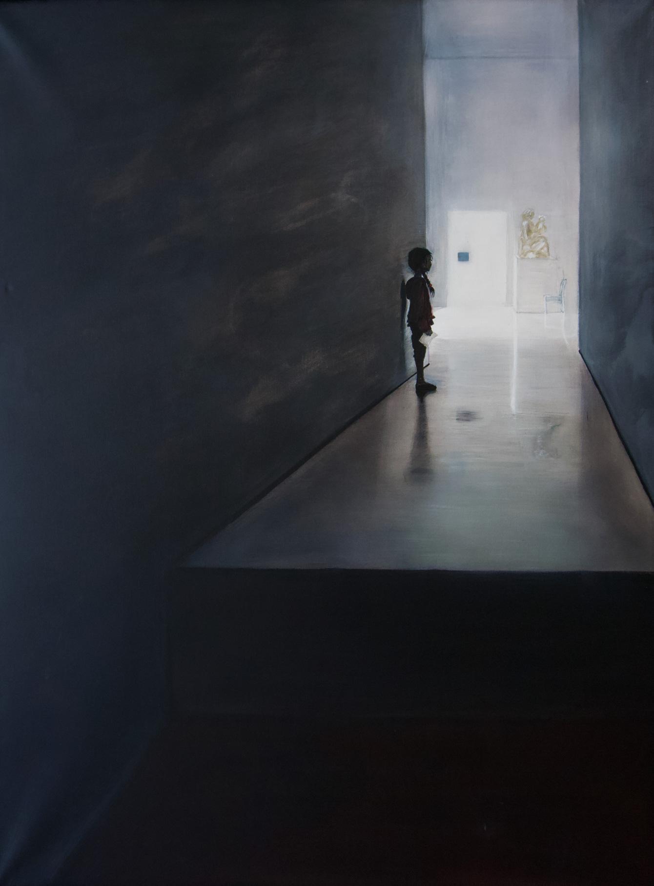 Foto des Gemäldes »Stufen«