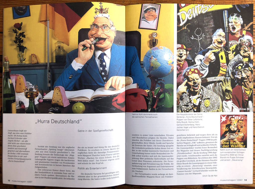 Doppelseite Museumsmagazin 1/2007